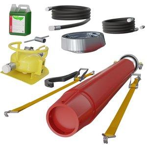 Racheta (ciocan pneumatic) pentru batut tevi T240