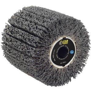 Perie cu carbura de siliciu pentru curatat rugina, pentru slefuitor / restaurator REX - Energybrush