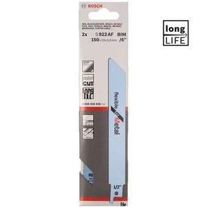 2 Panze pentru fierastraie sabie, tip S 922 AF Flexibile
