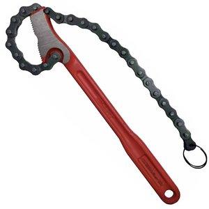 Cheie cu lant pentru tevi pana la 4