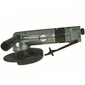 Polizor unghiular pneumatic 400 W, 125 mm, 12000 rot/min, ax M10 si maneta de actionare de siguranta, tip UT8750A