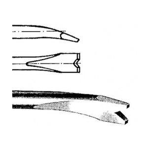 Daltă pentru puncte de sudura HEX-10, Lungime = 120, Latime = 20 mm