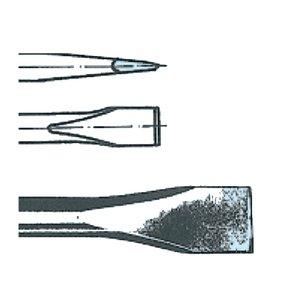 Daltă plata HEX-10.5, Lungime = 135 Latime = 19 mm