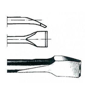 Daltă inclinata pentru curatare/razuire HEX-10.5, Lungime = 120, Latime = 35 mm