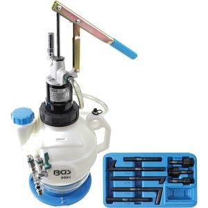 Aparat umplere ulei transmisie, cu pompă manuală si cu sistem retur, cu 8 adaptoare, capacitate 7 l