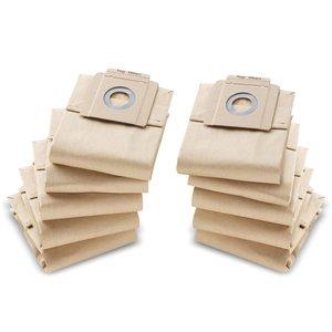 Set 10 saci filtrare din hartie pentru aspiratoare Karcher T7/1, T9/1, T10/1