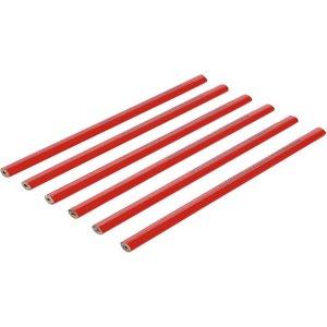 Set 6 creioane tamplari, 25 cm