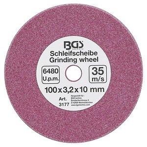 Disc pentru masinile de ascutit lanturi, Ø 100 x 3,2 x 10 mm
