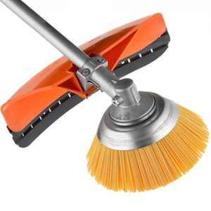 Perie pentru curatat buruieni, pentru motocoase, fir plastic, 230x25,4mm (pentru Stihl, Makita, Efco, Honda, etc.)