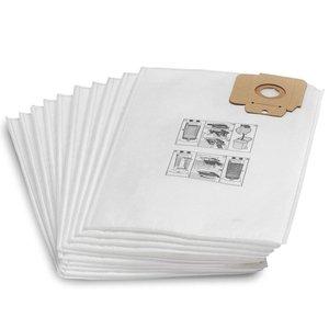 Set 10 saci filtrare din vlies pentru aspiratoare Karcher CV
