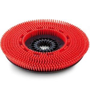 Perie disc medie, rosie, 510 mm
