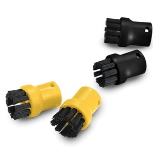 Set duze Karcher cu perii rotunde, pentru aparatele de curatat cu abur din seriile SC1-SC5