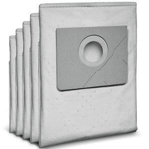 Set 5 saci Karcher, filtranti, VLIES, pentru aspiratoare din clasa NT