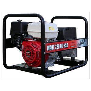 Generator de sudura trifazat benzina tip WAGT 220DC HSB