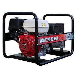 Generator de sudura trifazat benzina tip WAGT 220DC HSBE
