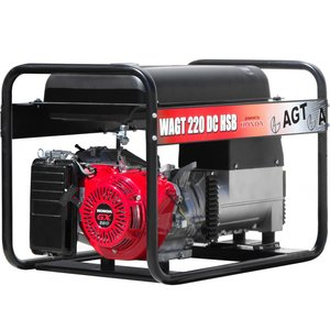 Generator de sudura trifazat benzina tip WAGT 220DC HSB R26