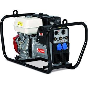 Generator de sudura monofazat pe benzina tip THUNDER 220 AC  HONDA