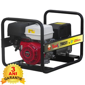Generator monofazat benzina tip TM 4501