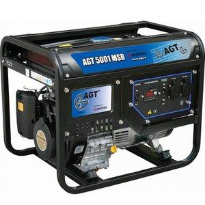 Generator monofazat benzina tip AGT 5001 MSB