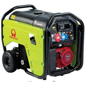 Generator trifazat benzina tip S8000T + CONN + AVR