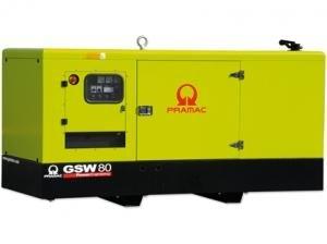 Generator trifazat, insonorizat, tip GSW 80 I