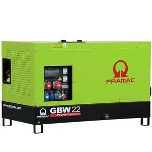 Generator trifazat, insonorizat, tip GBW 22 Y