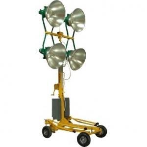 Turn pentru iluminat KLB 400-4 - 4 proiectoare