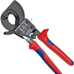 Cleste de taiat cablu cu clichet, ptr. diam .max. 32 mm, 250 mm