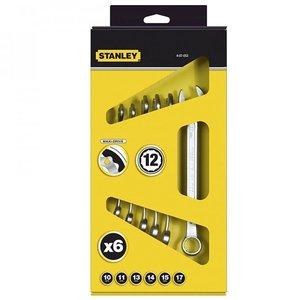 Set 6 chei combinate 10 - 17 mm