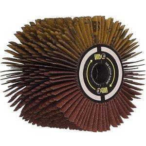 Perie cu lamele pentru suprafete curbe, pentru slefuitor / restaurator REX - Energybrush
