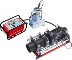 Aparat electro-hidraulic de sudura manuala tevi cap-la-cap tip ROWELD P160 PROFESSIONAL