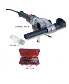 Aparat electric pentru mufat ROWELD  P-63 electronic, 20-32 mm