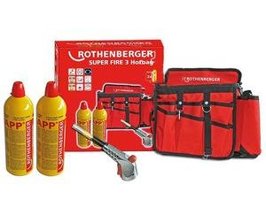 Set ROTHENBERGER HOTBAG Super Fire 3