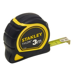 Ruleta STANLEY TYLON cu protectie cauciuc 3m