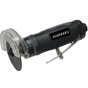 Polizor drept (biax) PNEUTEC HITEC LINE, pentru taiere, 20000 rot/min, 175 mm, penseta 6 mm, tip UT5760B