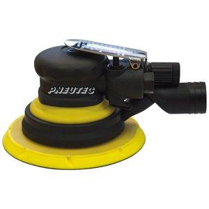 Slefuitor cu excentric si control al vitezei de rotatie taler, fara ulei, cu legare la aspiratie centralizata, 150 mm, 11000 rpm , PNEUTEC tip UT8772