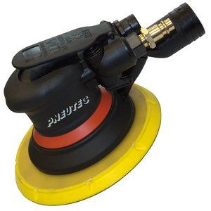 Slefuitor cu excentric si control al vitezei de rotatie taler, fara ulei, cu legare la aspiratie centralizata, 150 mm, 11000 rpm , PNEUTEC tip UT8773