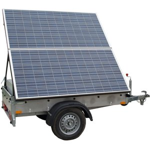 Generator Solar Mobil TEHNIK model GSM 600-7200L