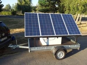 Generator Solar Mobil TEHNIK model GSM 800-7200