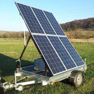 Generator Solar Mobil TEHNIK model GSM 900-12000