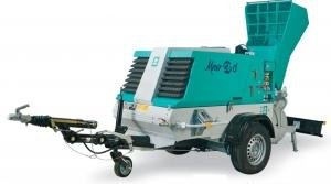 Pompa pentru transport sapa tip Mover 270 EVO DBR, remorcabila