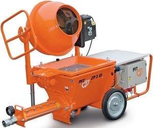 Masina de mixat si pompat tencuieli tip ZP3 XL MIX