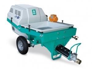 Masina de mixat si pompat tencuieli tip STEP 120, motor monofazat