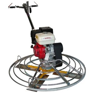 Elicopter pentru finisat beton BARIKELL 4x120 Profesional, motor Honda GX340, 11CP