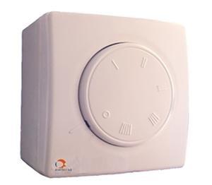 Regulator de viteza pentru 2 ventilatoare/destratificatoare MASTER RVS 2,5A