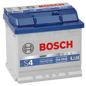 Acumulator auto 12V BOSCH tip S4 52Ah