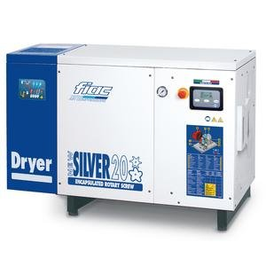 Compresor cu surub cu uscator tip NEW SILVER+D 20, 8 bar