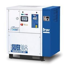 Compresor cu surub cu uscator tip NEW SILVER+D 30, 8 bar