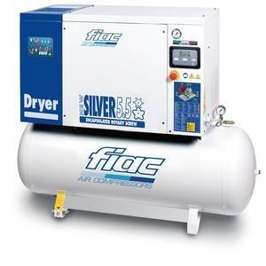 Compresor cu surub si uscator tip NEW SILVER D 5,5/300, 13 bar