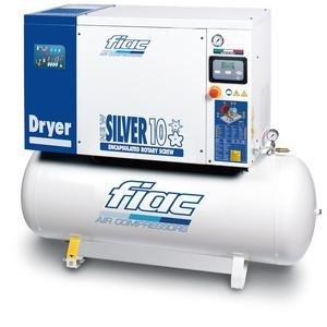 Compresor cu surub si uscator tip NEW SILVER D 10/500, 8 bar